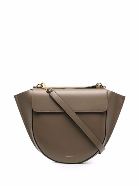 Wandler Hortensia leather tote bag - Green