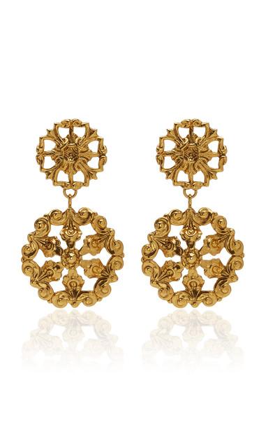 Jennifer Behr Chirine Earring in gold