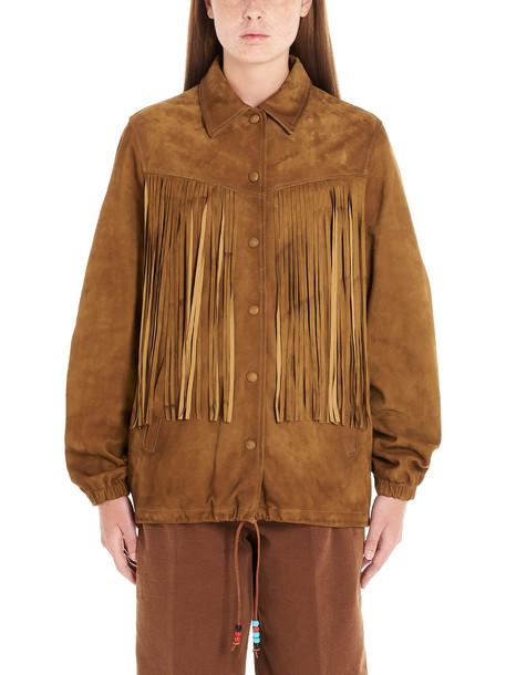 Golden Goose ayumi Jacket in brown