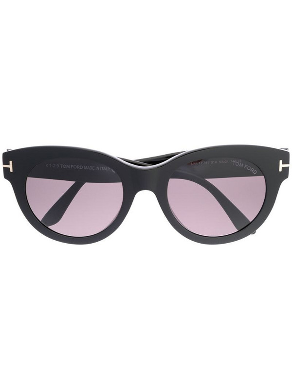 Tom Ford Eyewear Lou sunglasses in black