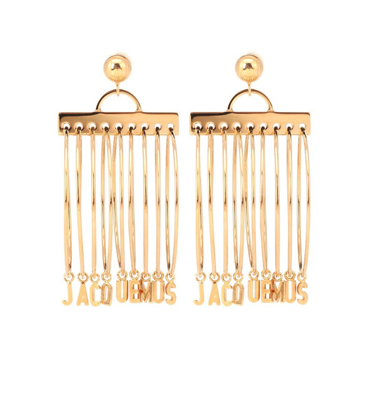 Jacquemus Les Boucles Anneaux hoop earrings in gold