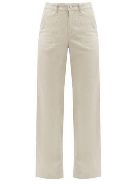 A.P.C. A.P.C. - Seaside Cotton-blend Corduroy Trousers - Womens - Ivory