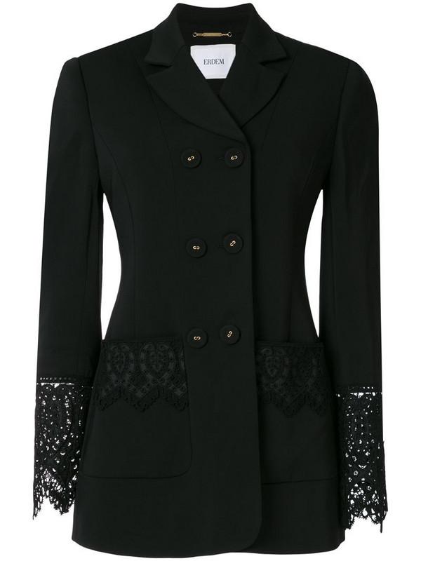 Erdem Lytton Cady Tailoring blazer in black