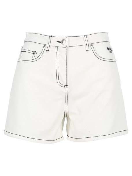 Msgm Short Denim