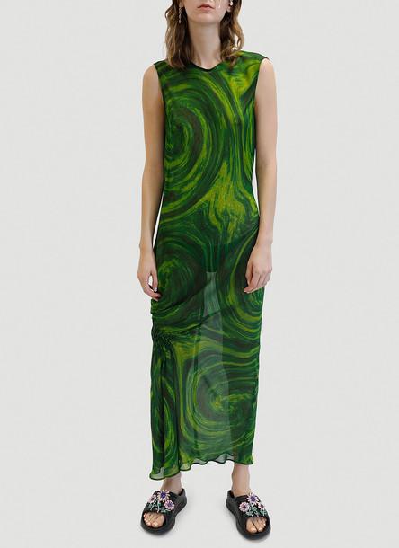 Collina Strada Lawn Dress in Green size S