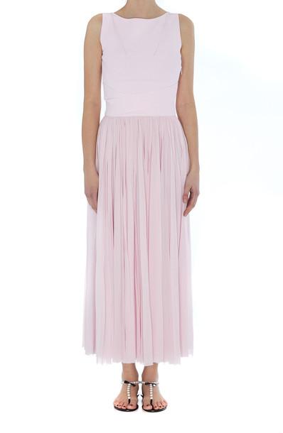 Alexander Mcqueen Plisse' Dress in pink