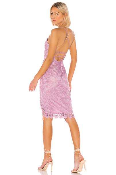 Lovers + Friends Skylight Dress in purple