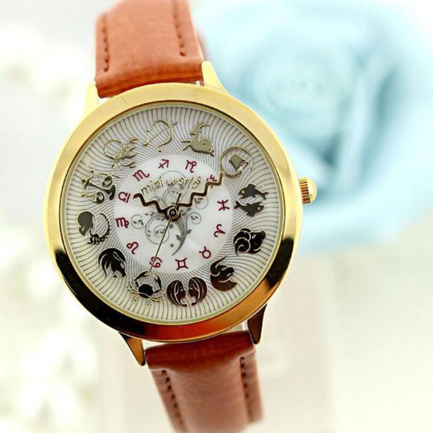 jewels handmade polymer watch fashion 12 constelation constelations women girl