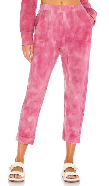 LoveShackFancy Blex Pant in Pink