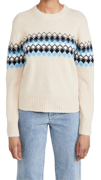A.L.C. A.L.C. Nathan Sweater in blue / stone