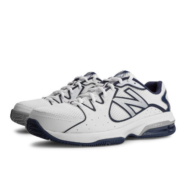 New Balance 786 Men's Shoes - White, Navy (MC786WN)