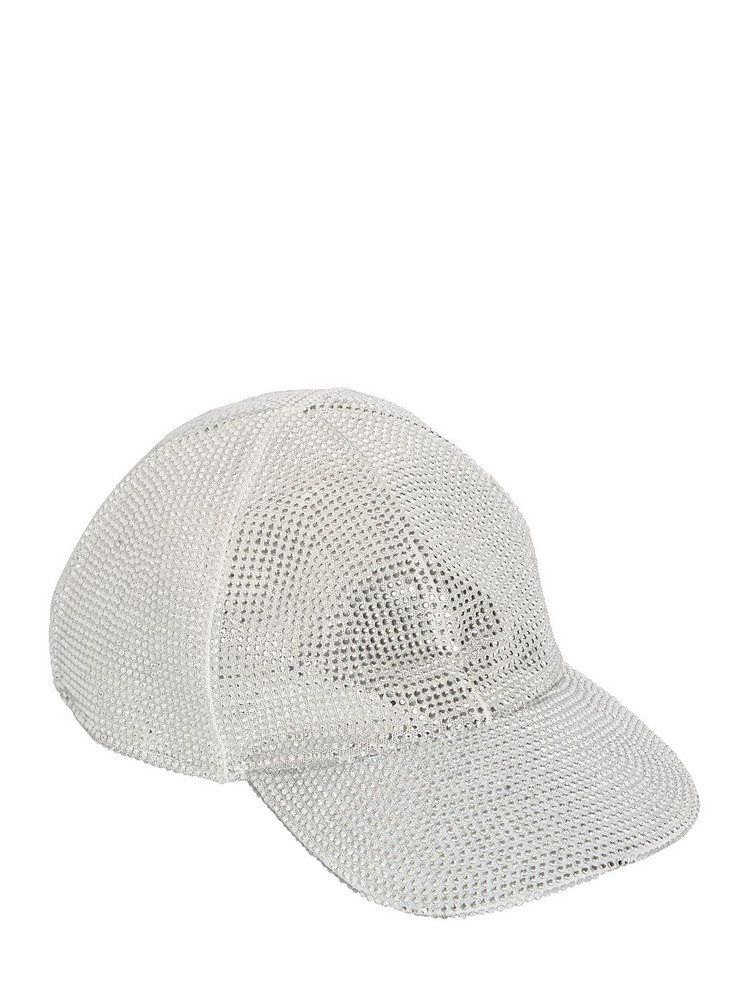 OFF-WHITE Crystal Net Baseball Hat