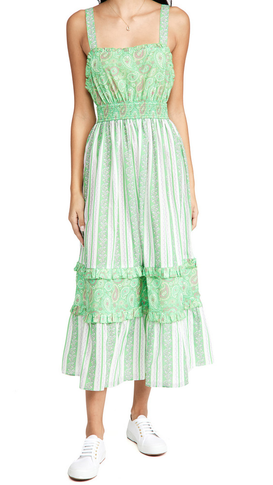 Playa Lucila Cambric Dress in green