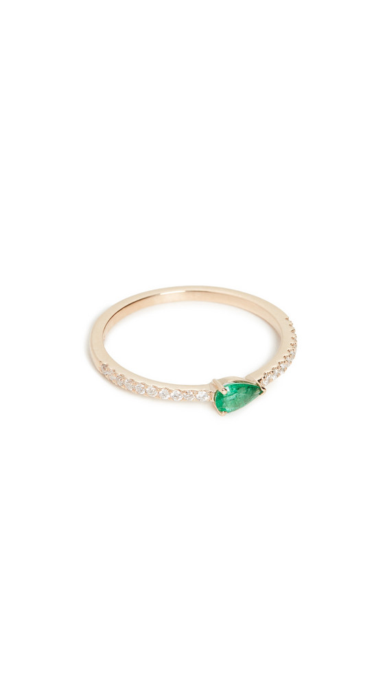 My Story The Layla Ring 14k in emerald