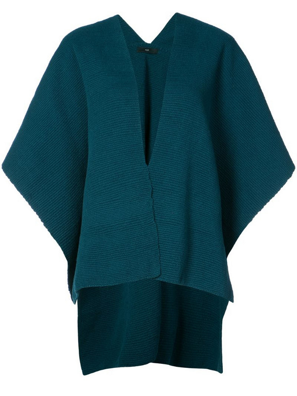 VOZ short cardigan in blue