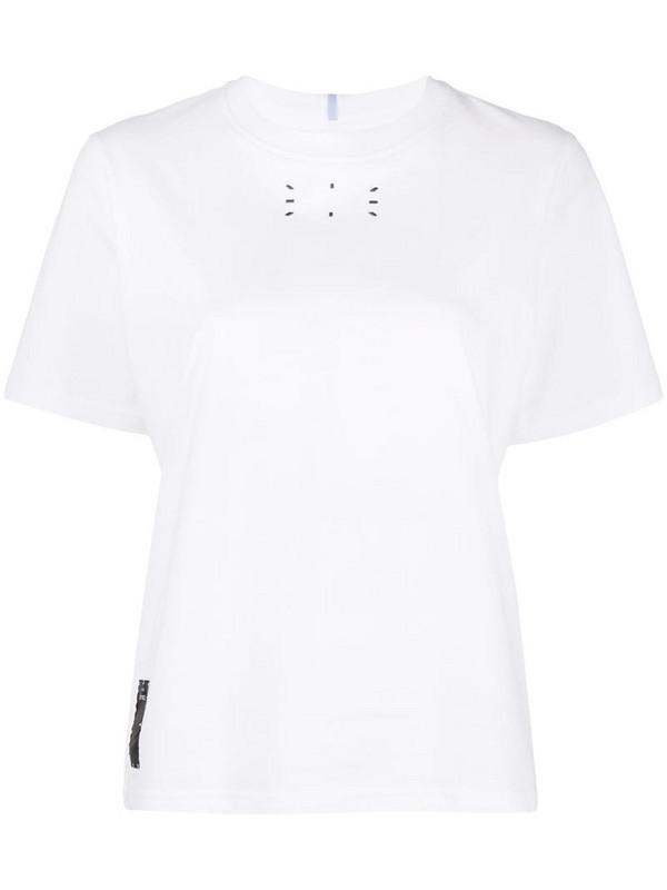 MCQ graphic-print cotton T-Shirt in white