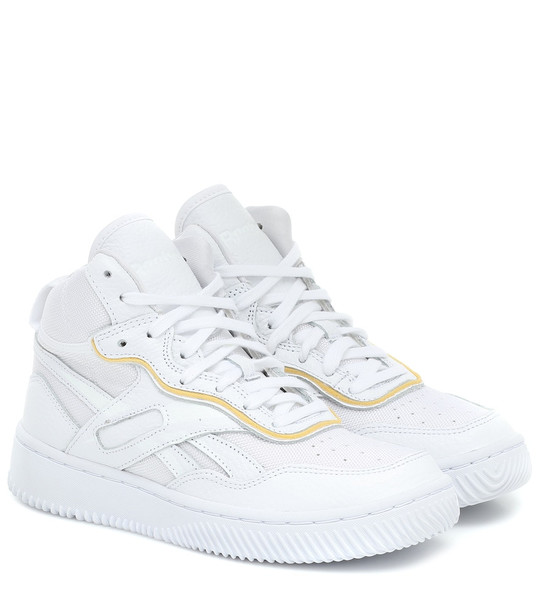 Reebok x Victoria Beckham Dual Court 2 leather sneakers in white