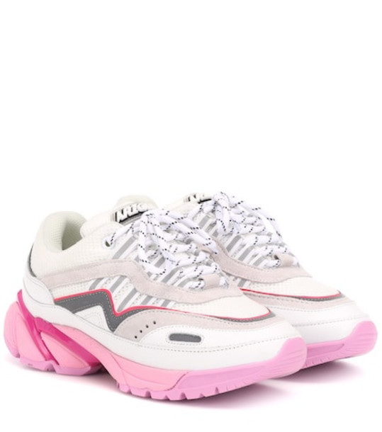 Axel Arigato Exclusive to Mytheresa – leather and mesh sneakers in pink