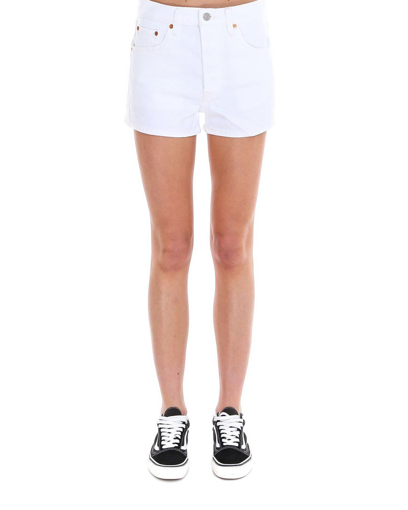 Levi's 501 Shorts in white
