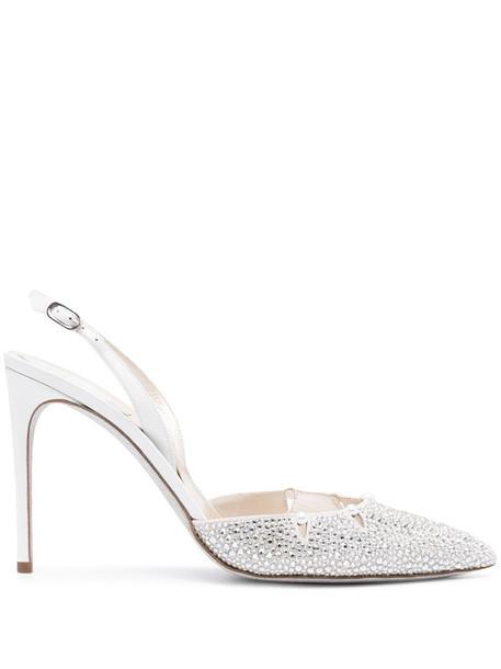 René Caovilla Yuki sandals in silver