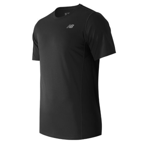 New Balance 53061 Men's Accelerate Short Sleeve - Black (MT53061BK)