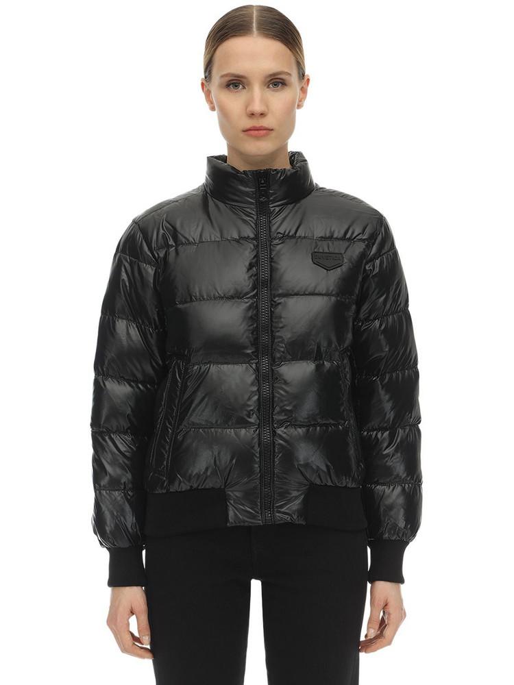 DUVETICA Menkib Nylon Down Jacket in black