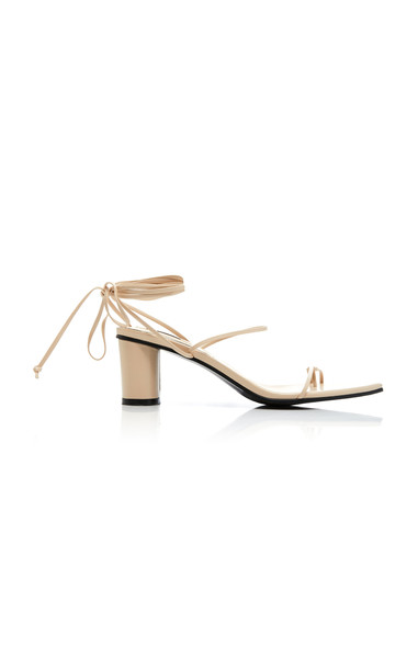 Reike Nen Odd Pair Leather Sandals Size: 36 in neutral