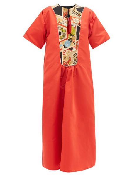 Rianna + Nina Rianna + Nina - Vintage Silk Maxi Dress - Womens - Multi