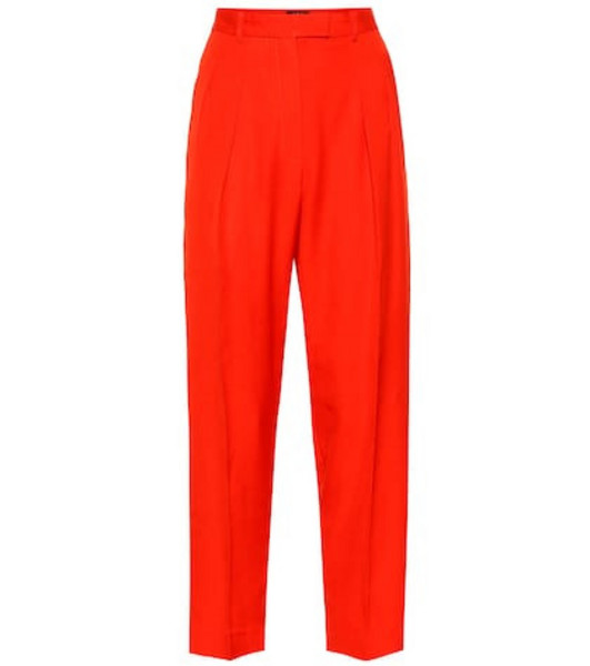 A.P.C. Cheryl high-rise pants in red