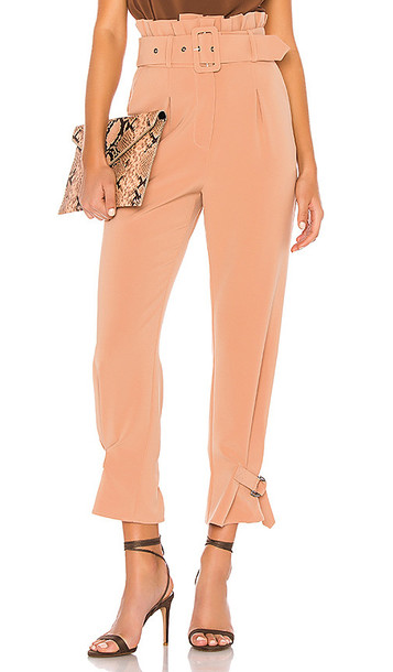 Lovers + Friends Lovers + Friends Rafaella Trousers in Tan