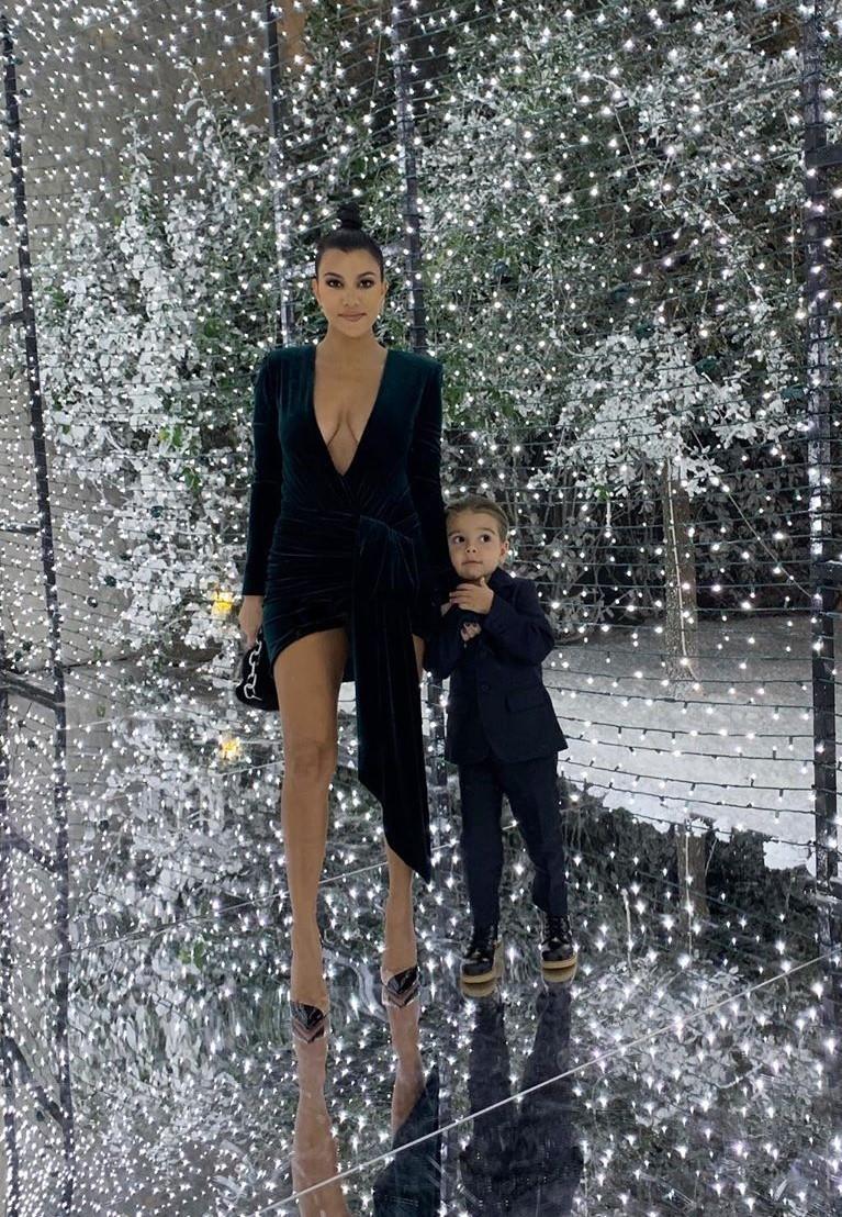 dress celebrity sexy sexy dress kourtney kardashian kardashians mini dress instagram velvet velvet dress