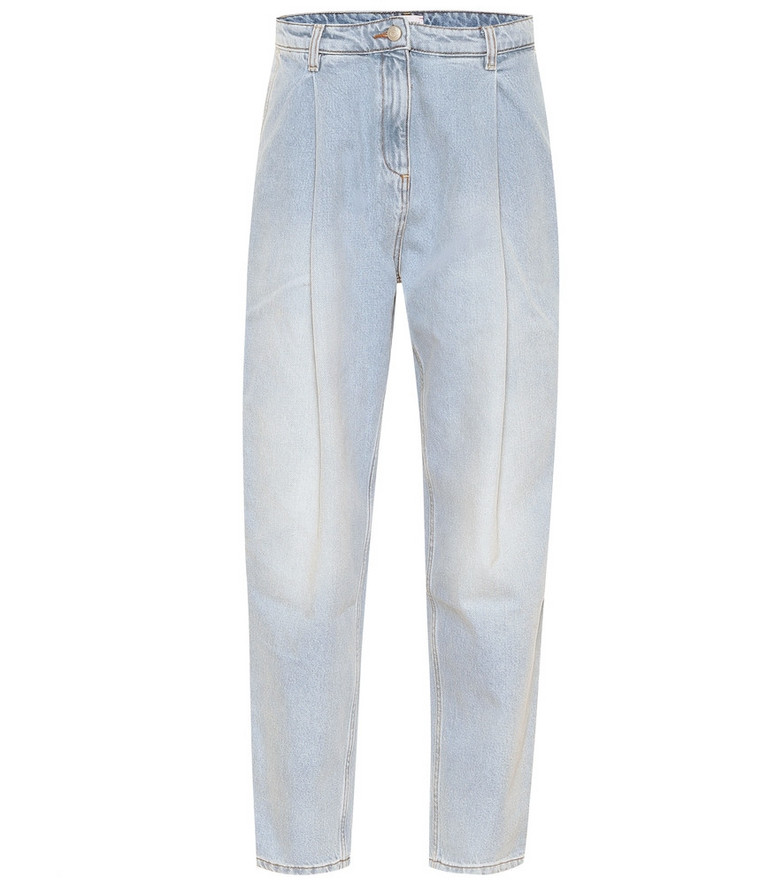 Magda Butrym Totness high-rise wide-leg jeans in blue