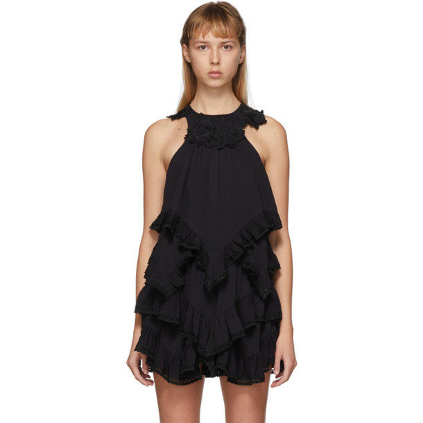 Isabel Marant Black Lupita Top