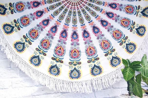 home accessory round mandala