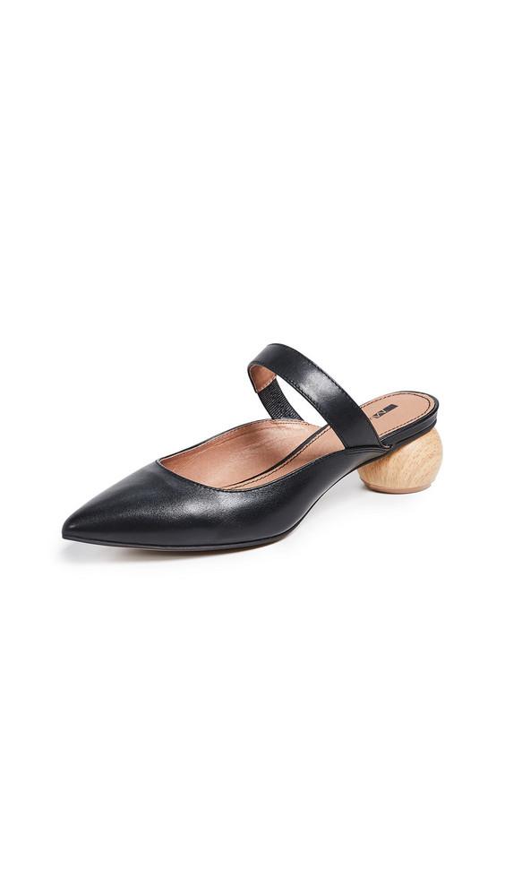 Matiko Virca Point Toe Mules in black