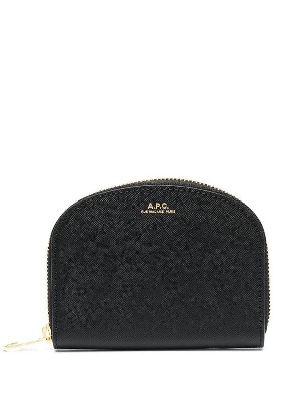 A.P.C. money pouch in black