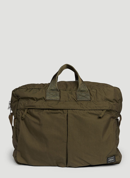 Porter - Yoshida & Co. Porter - Yoshida & Co. Ian Oversea 2Way Boston Bag in Green size One Size