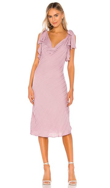 Tularosa Silas Dress in Lavender