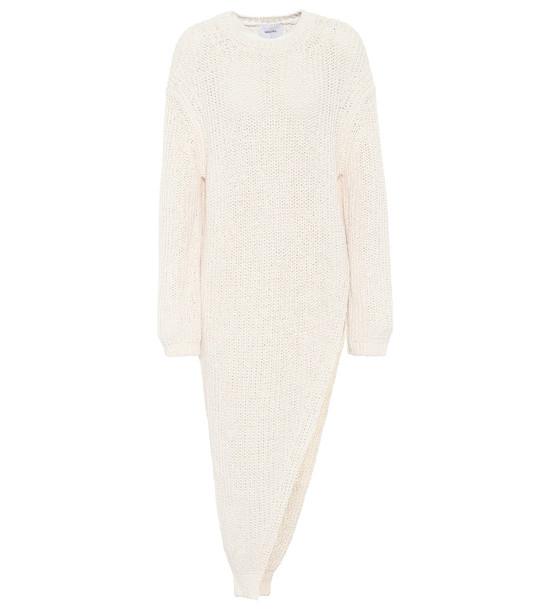 Nanushka Rodi cotton-blend sweater in white
