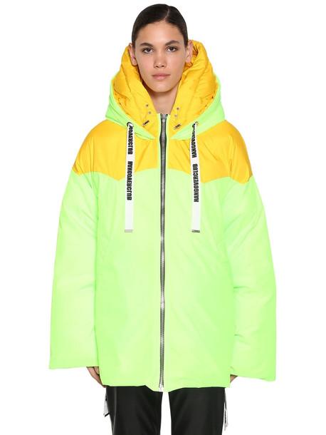 KHRISJOY New Joy Down Jacket in green / yellow