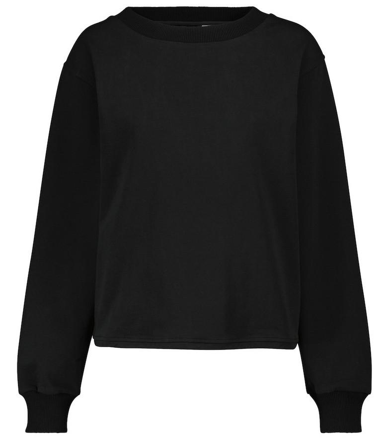 VARLEY Weston stretch-cotton sweatshirt in black