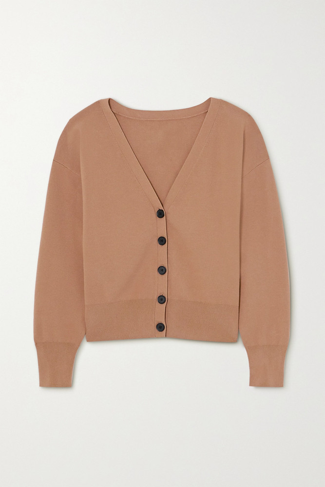 A.L.C. A.L.C. - Peters Knitted Cardigan - Brown