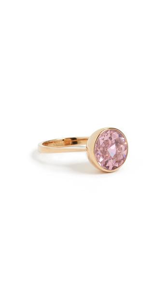 Kate Spade New York Reflecting Pool Round Ring in pink