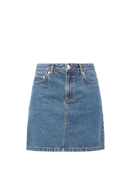A.P.C. A.P.C. - Jupe Standard Denim Skirt - Womens - Denim