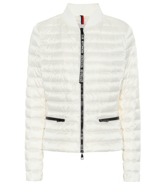 Moncler Blenca quilted down jacket in white