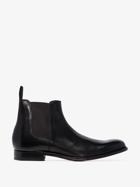 Grenson Black Declan Leather Chelsea Boots