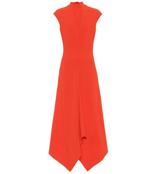 Proenza Schouler Crêpe dress in red