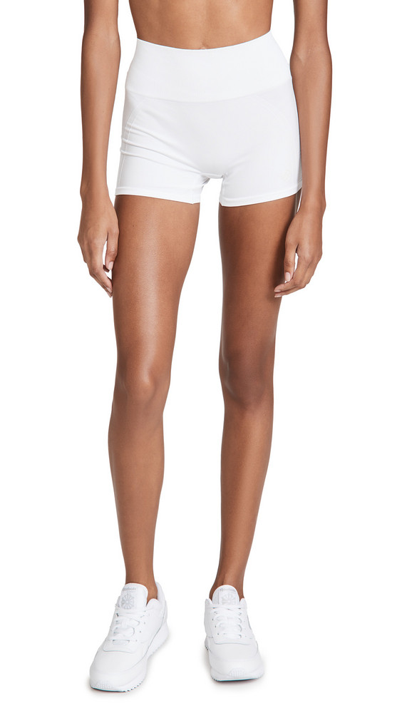 Tory Sport High-Rise Seamless Shorts in white