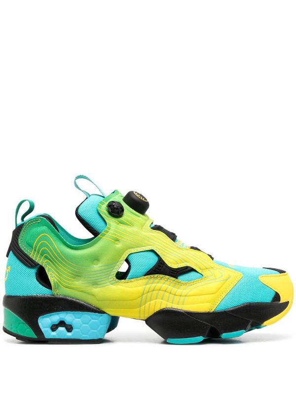 Reebok x Chromat Instapump Fury sneakers in blue