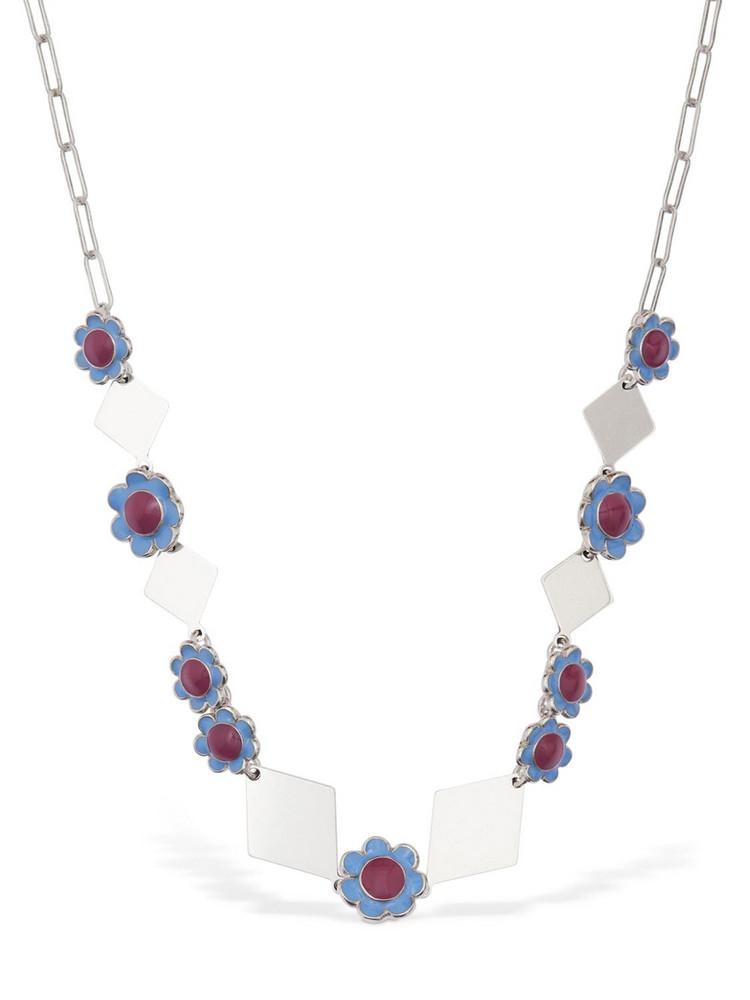 ISABEL MARANT Spring Short Necklace in silver / multi